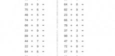 1年生で学んだたし算・ひき算をベースに、より理解度を深める問題です。2けたの数を使い。くり上げ・くり下げなどを使い学習していきます。