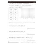 3年算数プリント|表とグラフ3